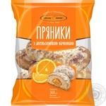 Пряники Киевхлеб с апельсиновой начинкой 360г