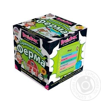 Скринька Знань Ферма BrainBox 98347 - купить, цены на Novus - фото 4