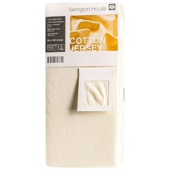 Tarrington House Sheet on an elastic band light-bage 90Х200cm - buy, prices for Metro - image 1