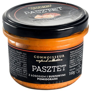 Connoisseur Salmon pate with tomato 160g