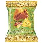 Цукерки Лісова казка Чарівне більчатко з арахісом вафельні глазуровані кондитерською глазур'ю