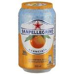 Sanpellegrino orange carbonated beverage 330ml