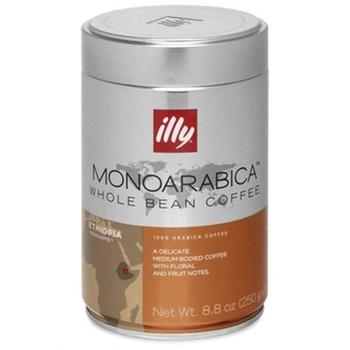 Кофе ILLY в зернах моноарабика Эфиопия 250г