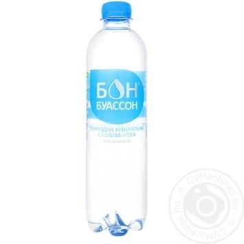 Вода мінеральна Бон Буассон негазована 0,5л
