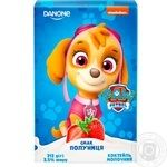 Danone Paw Patrol Strawberry Milk Cocktail 2.5% 212g - buy, prices for MegaMarket - image 1