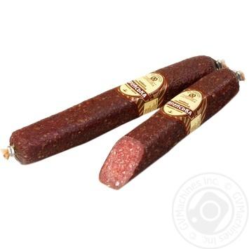 Kharkivskyi Myasokombinat Jewish sausage smoked 310g