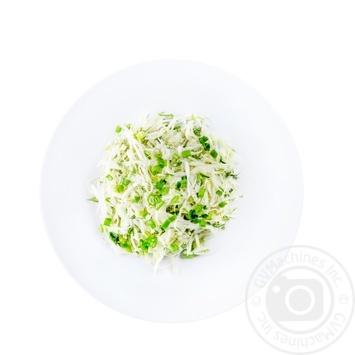 Салат из молодой капусты - купить, цены на Novus - фото 1