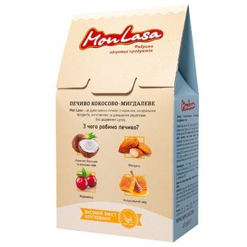 Печенье Mona Lisa Кокосово-миндальное безглютеновой 120г - купить, цены на МегаМаркет - фото 2