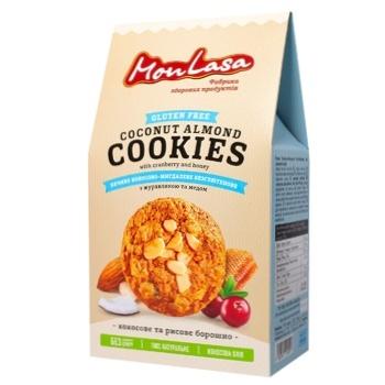 Mon Lasa Cookies Coconut Almond Gluten Free 120g