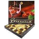 Конфеты Житомирские ласощи Вишня заспиртованная в шоколадной глазури 205г