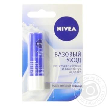 Бальзам Nivea Базовый уход для губ 4,8г - купить, цены на Novus - фото 4