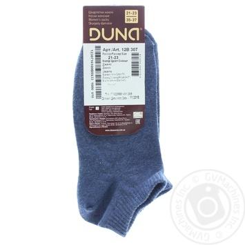 Носки женские Duna 307 джинс р.21-23 шт - купить, цены на Фуршет - фото 2