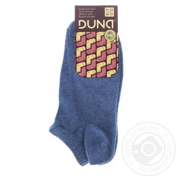 Носки женские Duna 307 джинс р.21-23 шт - купить, цены на Фуршет - фото 1