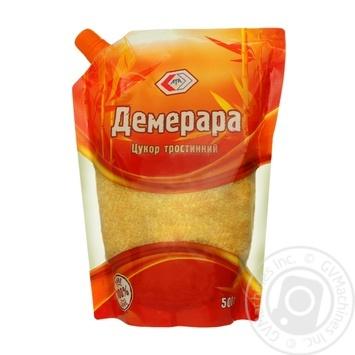 Сахар Ата Демерара тростниковый 500г - купить, цены на МегаМаркет - фото 1