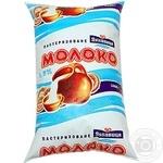 Молоко Лукавица пастеризованное 1.5% 1000мл пленка Украина