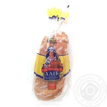 Батон Агробізнес пшеничний нарізаний з маком 600г - купить, цены на Ашан - фото 1