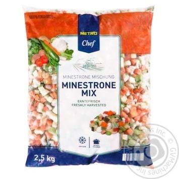 Metro Chef frozen Minestrone mix 2,5kg