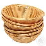 Корзина для хлеба Aro круглая 23см 6шт