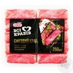 Крабовые палочки Vici Снежный краб охлажденные 250г - купить, цены на МегаМаркет - фото 1