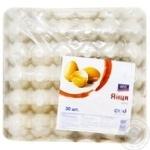 Яйца куриные Aro C1 30шт - купить, цены на Метро - фото 1