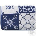 Tarrington House Blue Blanc Towels 70X140cm