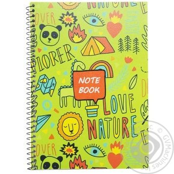 Cool for school Notebook A5 spiral 60 sheets - buy, prices for Metro - image 1