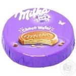 Вафлі Milka Choco Wafer  з молочним шоколадом 30г