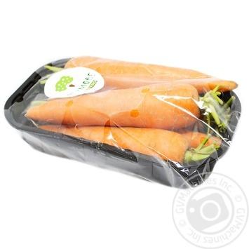 Морква молода фермова 800г - купити, ціни на Метро - фото 1