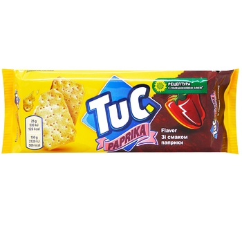 Tuc With Paprica Salt Cracker - buy, prices for CityMarket - photo 1