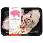 Стейк Глобино со свиной корейки порционный охлажденный
