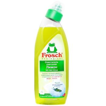 Гель для чистки унитазов Frosch Лимон 750л
