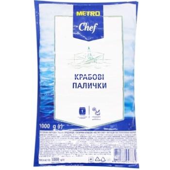 Крабовые палочки Metro Chef 1кг