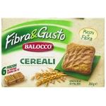 Печиво зернове Balocco збагачене волокном 350г