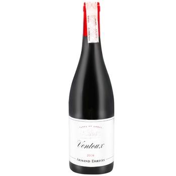 Вино A.Dartois Венту Терре Амбре красное сухое 0,75л