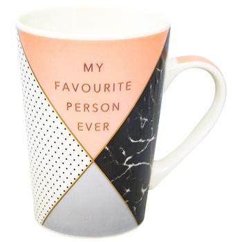 Чашка Limited Edition Harmony 510мл в ассортименте - купить, цены на Метро - фото 1