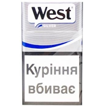 Купить сигареты west silver одноразовые электронные сигареты как открыть