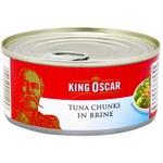 Тунец King Oscar в собственном соку 170г