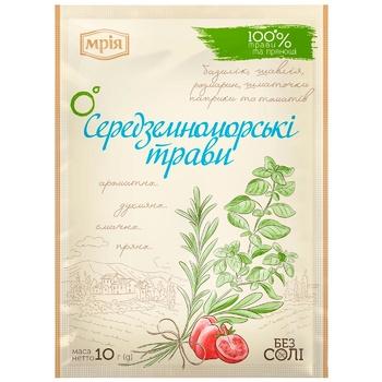 Приправа Мрия Средиземноморские травы 10г