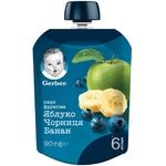 Gerber for children banana-bilberry puree 90g