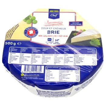 Сыр METRO Chef Бри 60% 500г