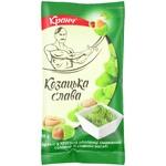 Kozatska Slava With Wasabi Taste In Crisps Fried Salted Peanuts 55g