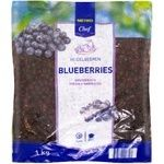 Metro Chef Fresh Blueberries Frozen 1kg