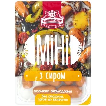 Сосиски Бащинский Мини с сыром 1/с 350г - купить, цены на МегаМаркет - фото 2