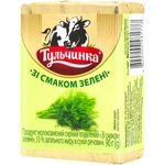 Продукт сырный Тульчинка плавленый со вкусом зелени 55% 90г