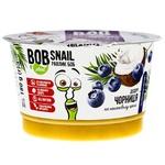 Десерт Bob Snail на кокосовом креме черника 180г