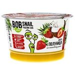 Bob Snail Strawberry Dessert with Coconut Cream 180g