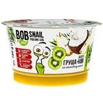 Bob Snail Pear Kiwi Dessert with Coconut Cream 180g