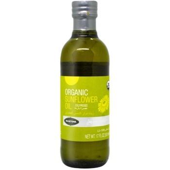Масло Mantova Подсолнечное органическое 0,5л - купить, цены на Метро - фото 1