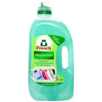Средство для стирки Frosch для цветных тканей жидкое 5л