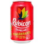 Напій Rubicon сильногазований зі смаком граната ж/б 0,33л